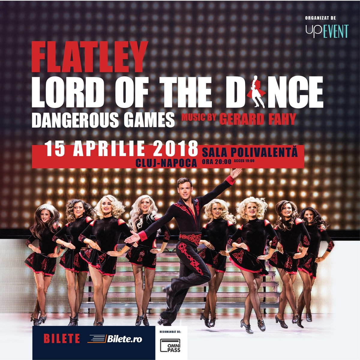 Lord of the Dance – Dangerous Games revine la Cluj cu o coregrafie inovatoare