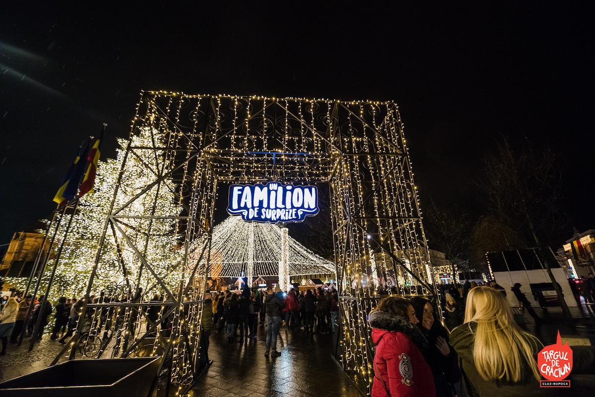 Programul familionului pentru Târgul de Crăciun Cluj