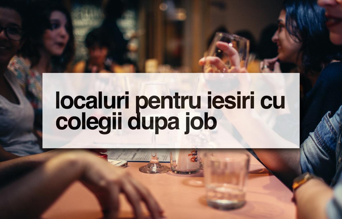 4 localuri din Cluj potrivite pentru ieșiri cu colegii după job