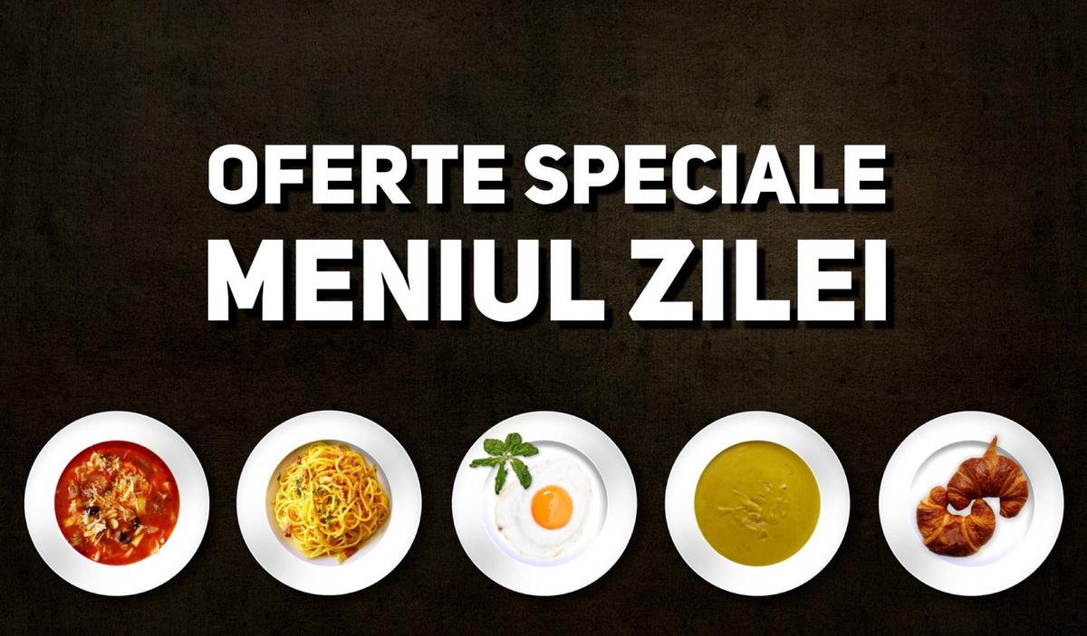 Oferte speciale la meniul zilei în Cluj