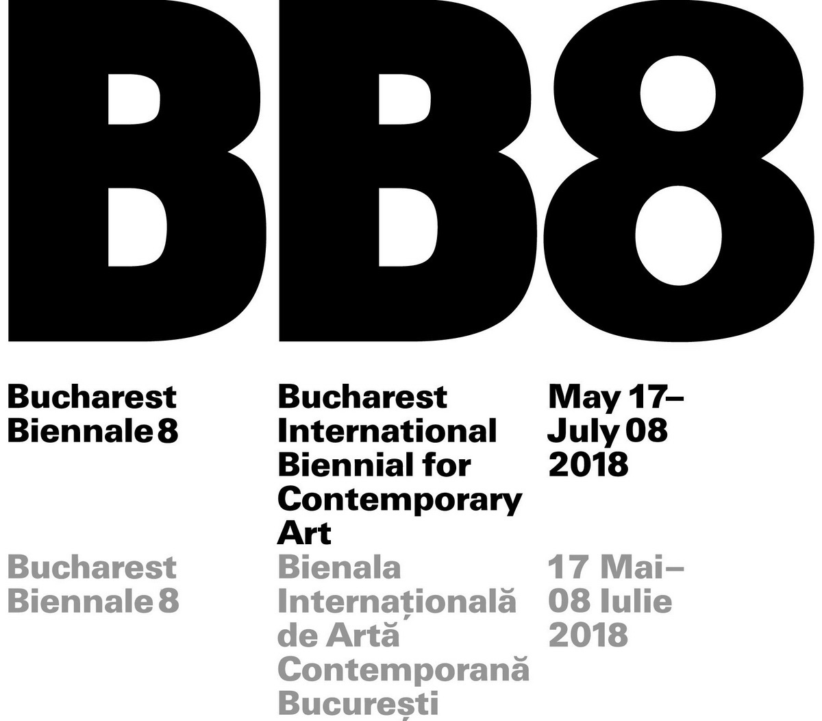 Bucharest International Biennial for Contemporary Art 2018