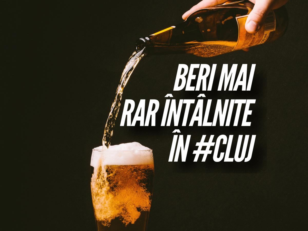 5 localuri din Cluj unde poți încerca beri mai rar întâlnite