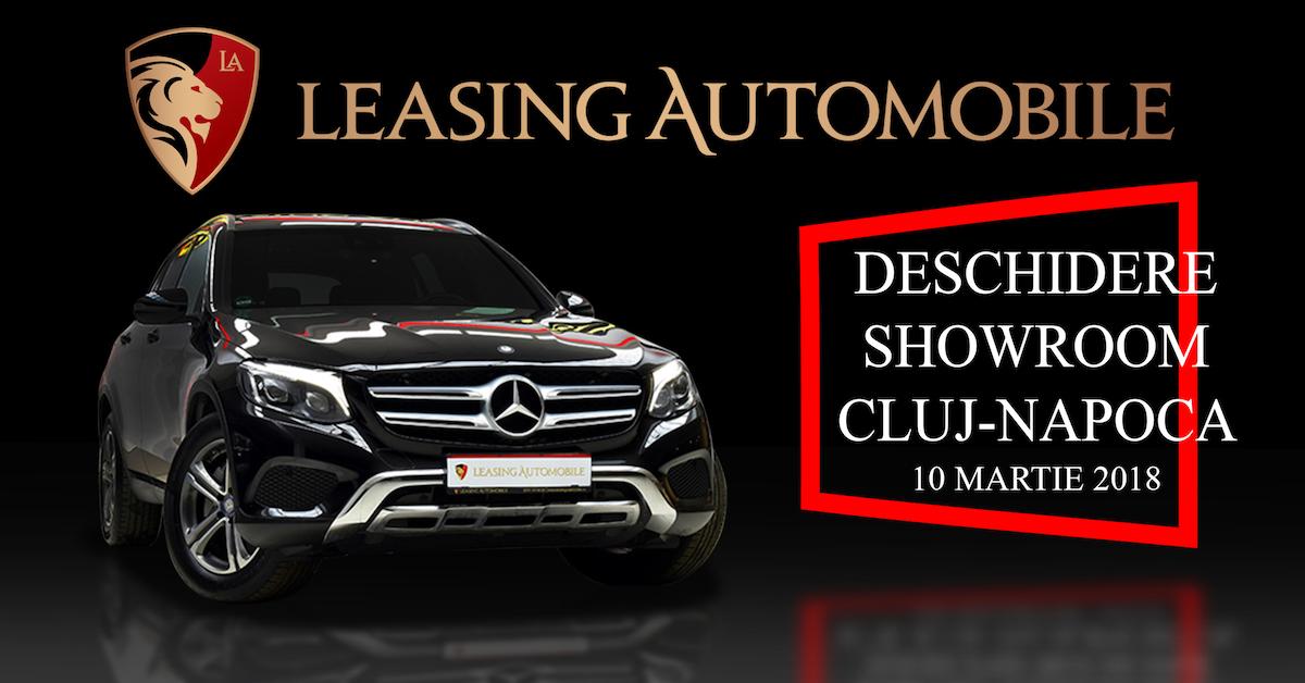 Leasing Automobile, cel mai mare showroom de auto rulate deschide filială la Cluj