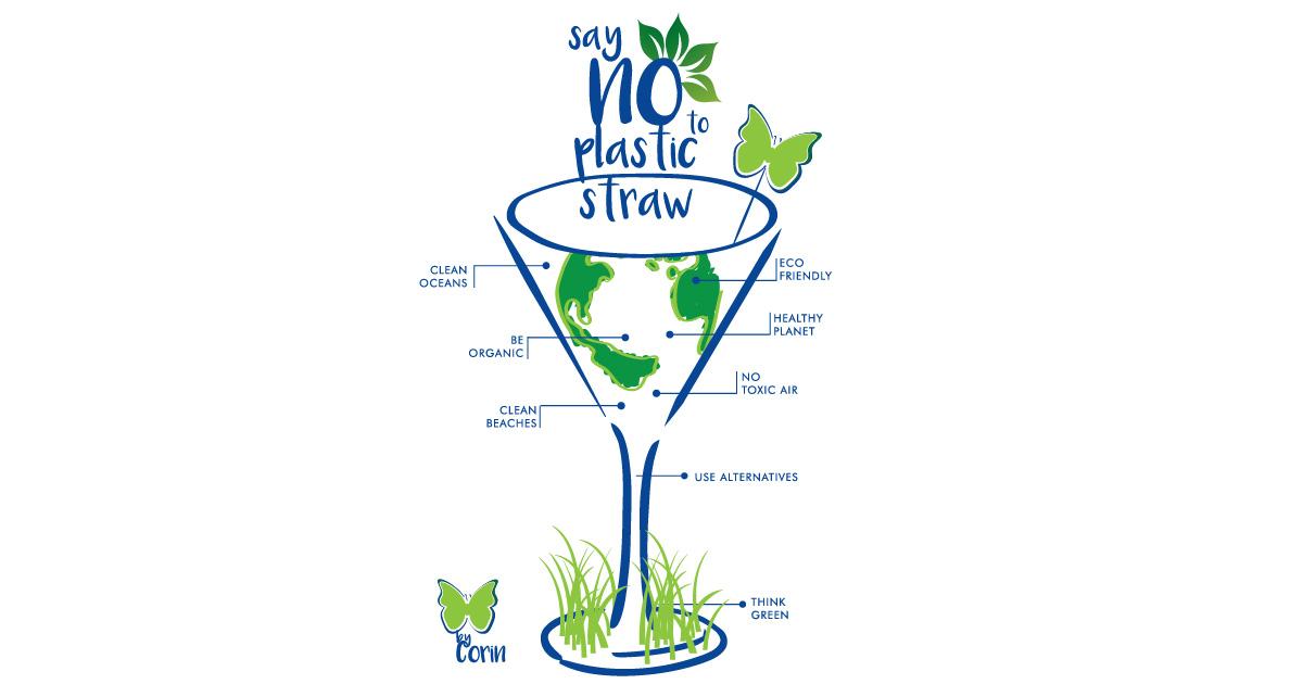 #RefuseTheStraw: De ce încă ai un pai de plastic în băutura ta?