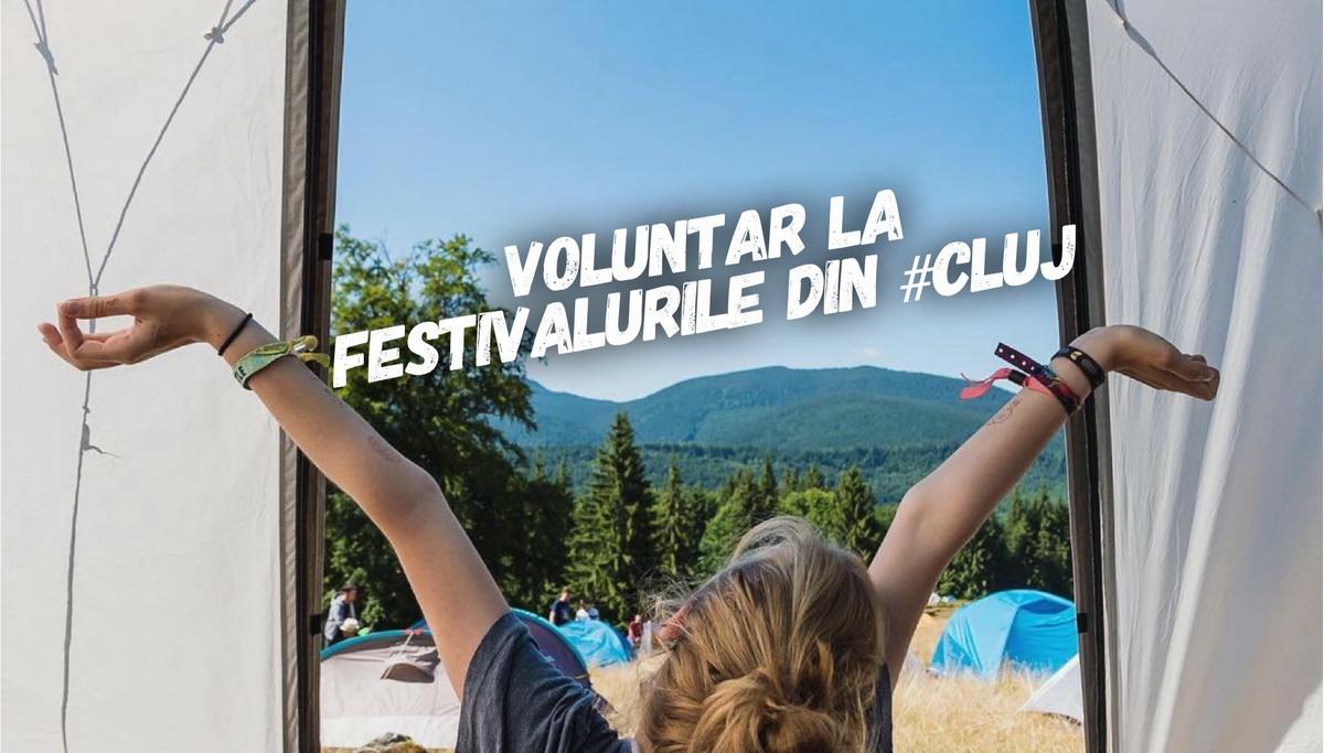 Cum e să fii voluntar la festivalurile din Cluj