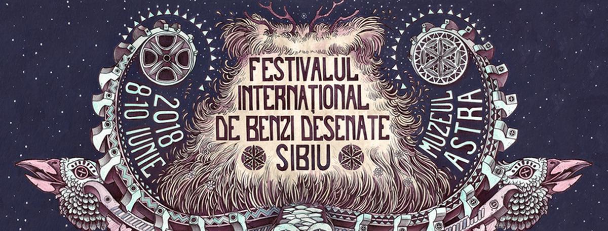 Festival International de Benzi desenate de la Sibiu 2018