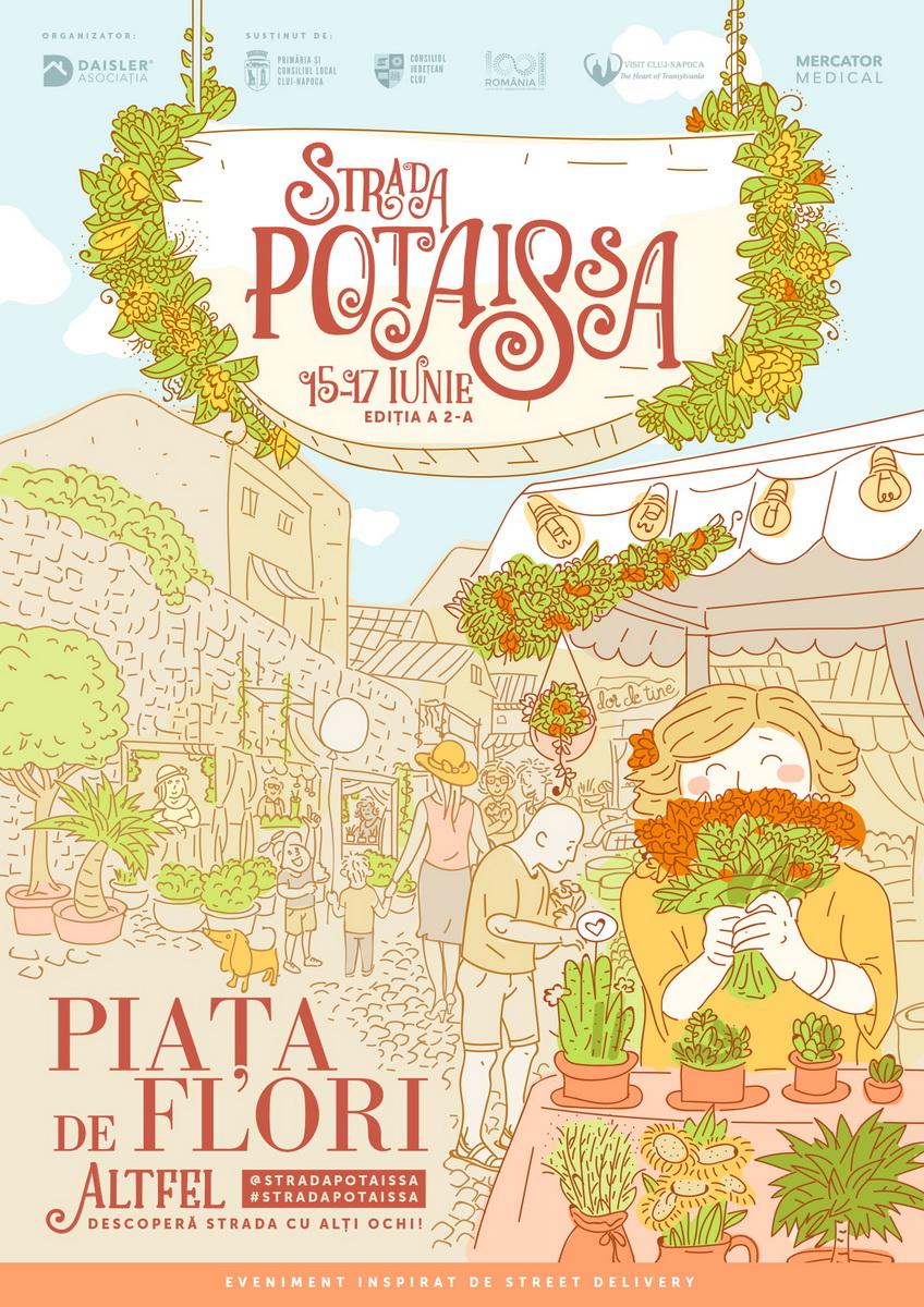 Asociația Daisler anunță cea de-a doua ediție a Străzii Potaissa