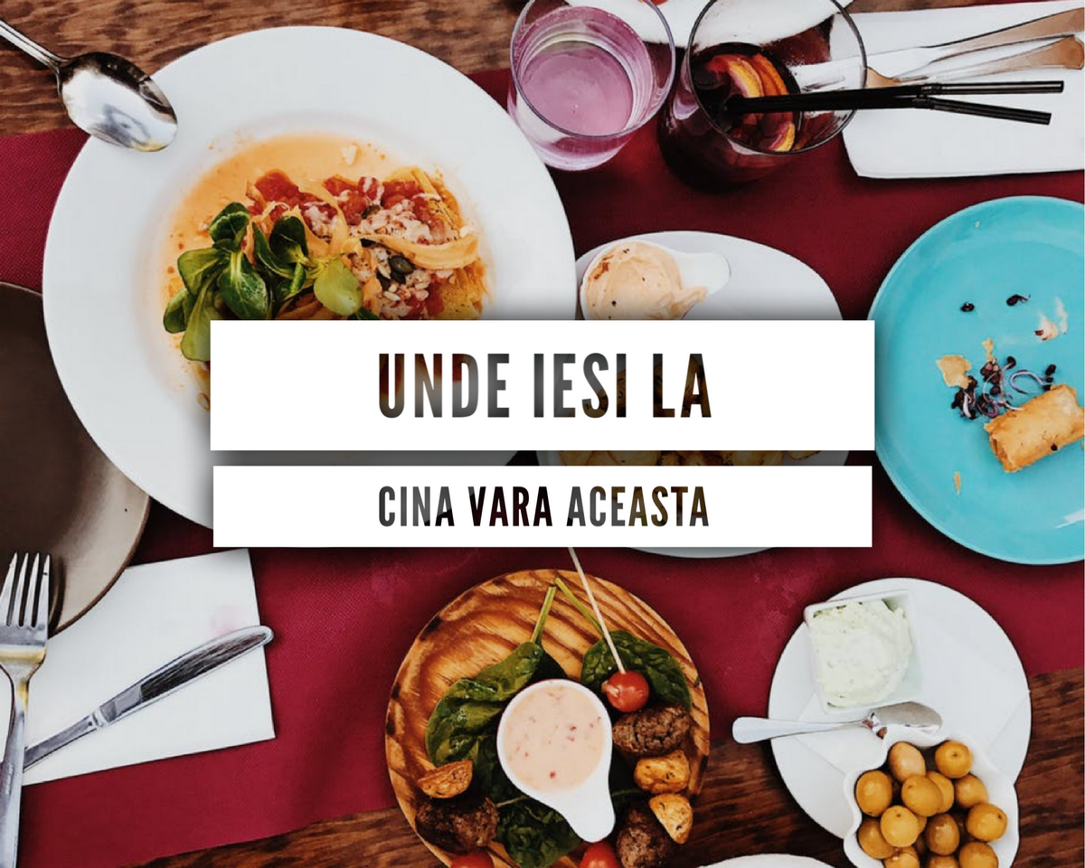 6 locuri unde poți ieși la cină vara aceasta în Cluj
