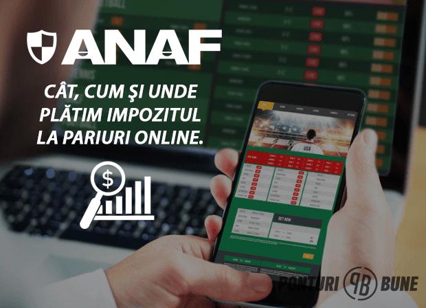 Cum se platesc impozitele pentru castigurile la jocurile de noroc online