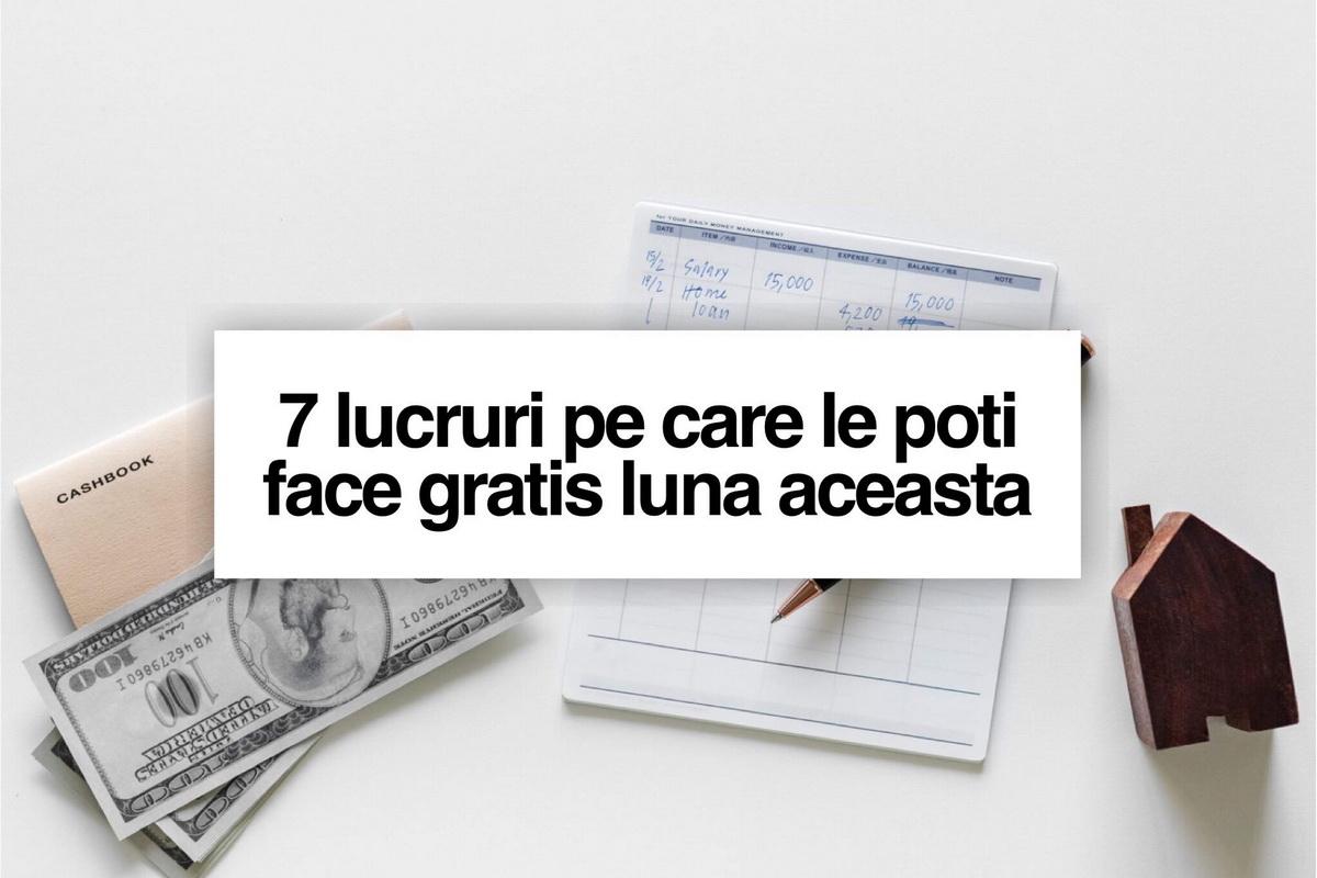 7 lucruri pe care le poți face gratis luna aceasta în Cluj