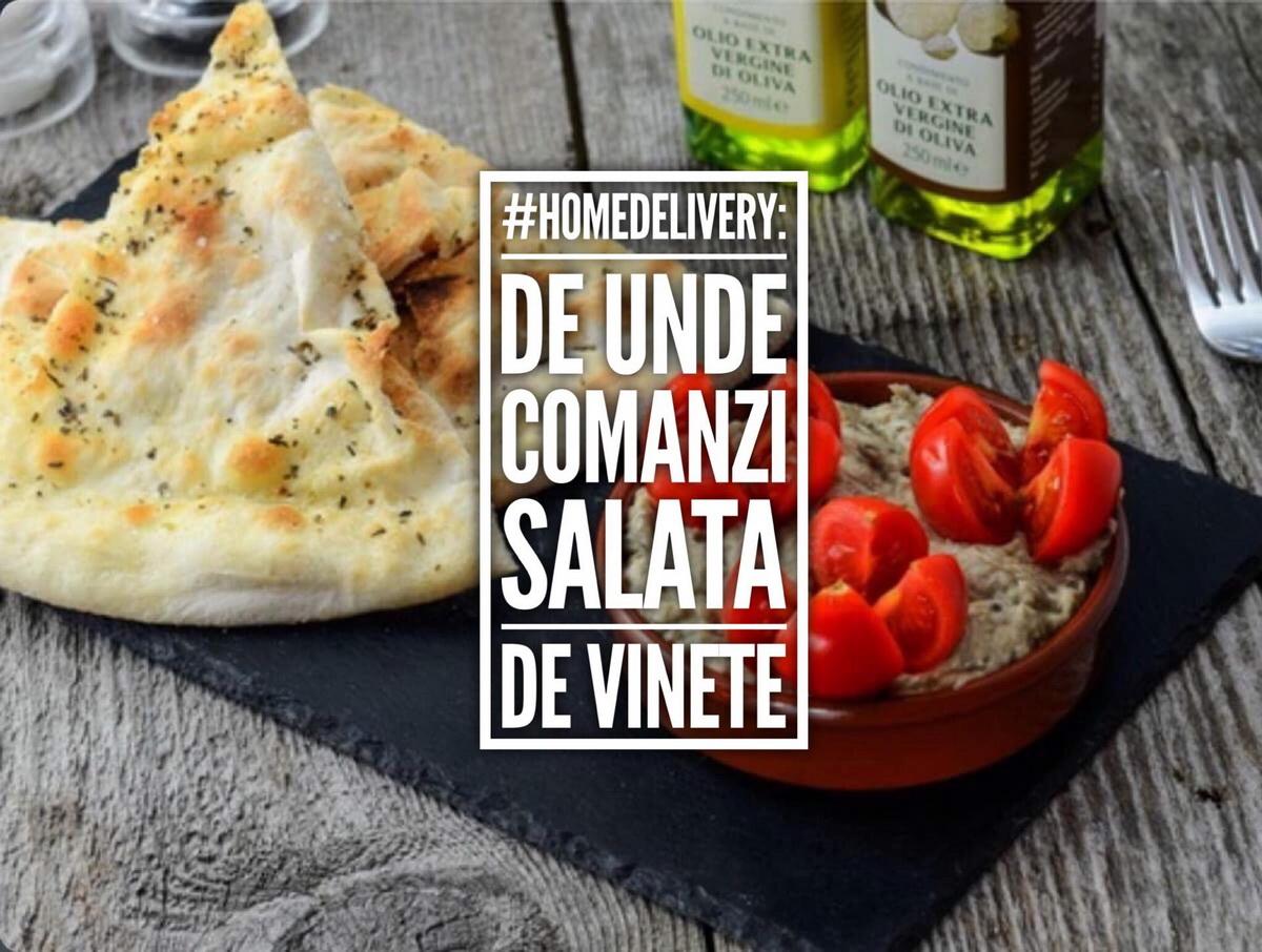 #HomeDelivery: de unde comanzi cea mai bună salată de vinete