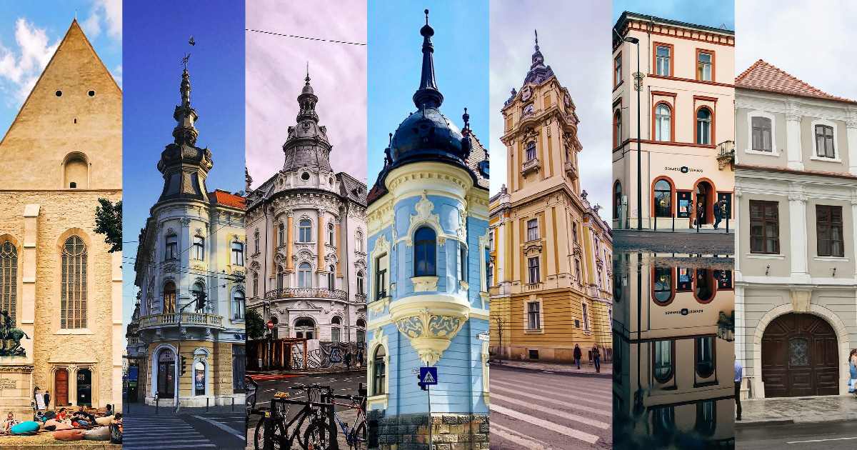 7 clădiri din centrul Clujului renovate destul de recent – inspirație pentru urmatoarele tale poze pe Instagram