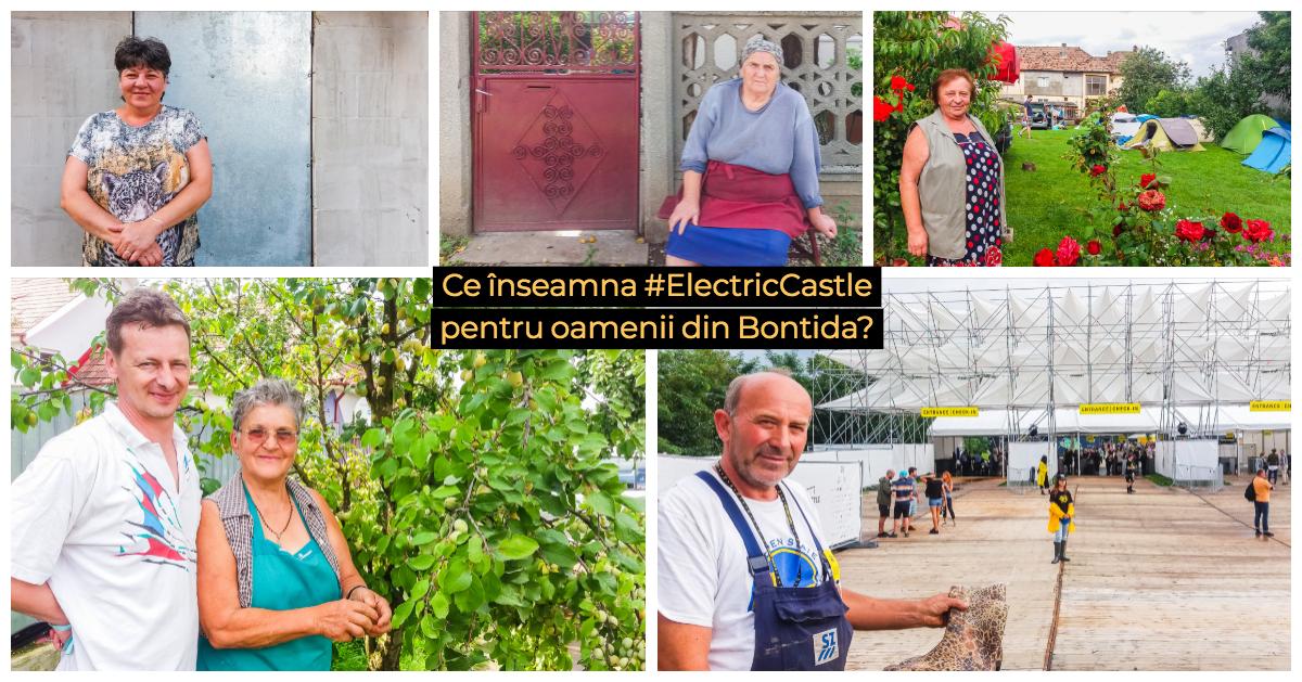 Ce înseamnă Electric Castle pentru oamenii din Bonțida?