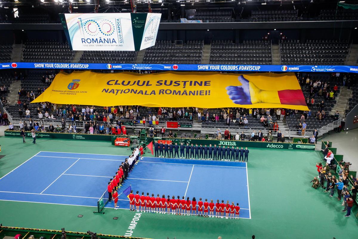 Meciul România – Polonia, din Cupa Davis by BNP Paribas, se va juca la Cluj-Napoca