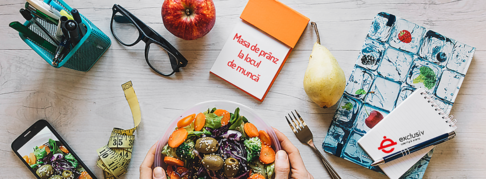 Exclusiv Catering & Events îți livrează masa de prânz acasă sau la birou