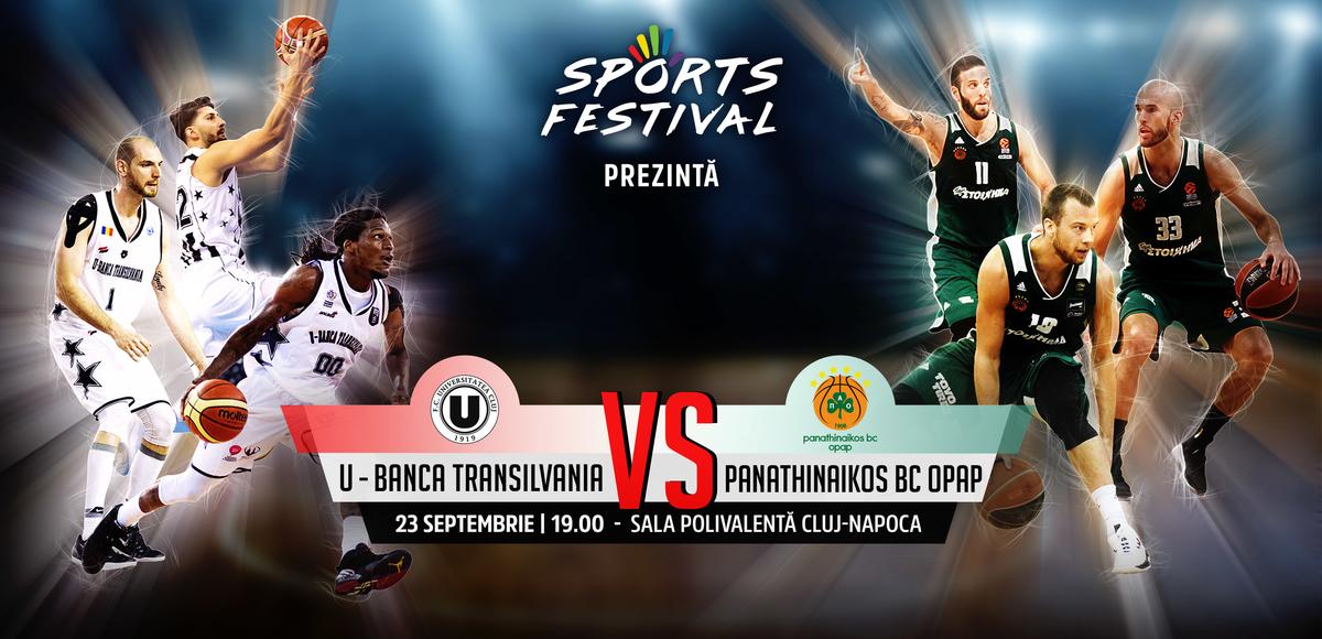 Meciul anului în baschetul românesc are loc la Cluj pe 23 septembrie