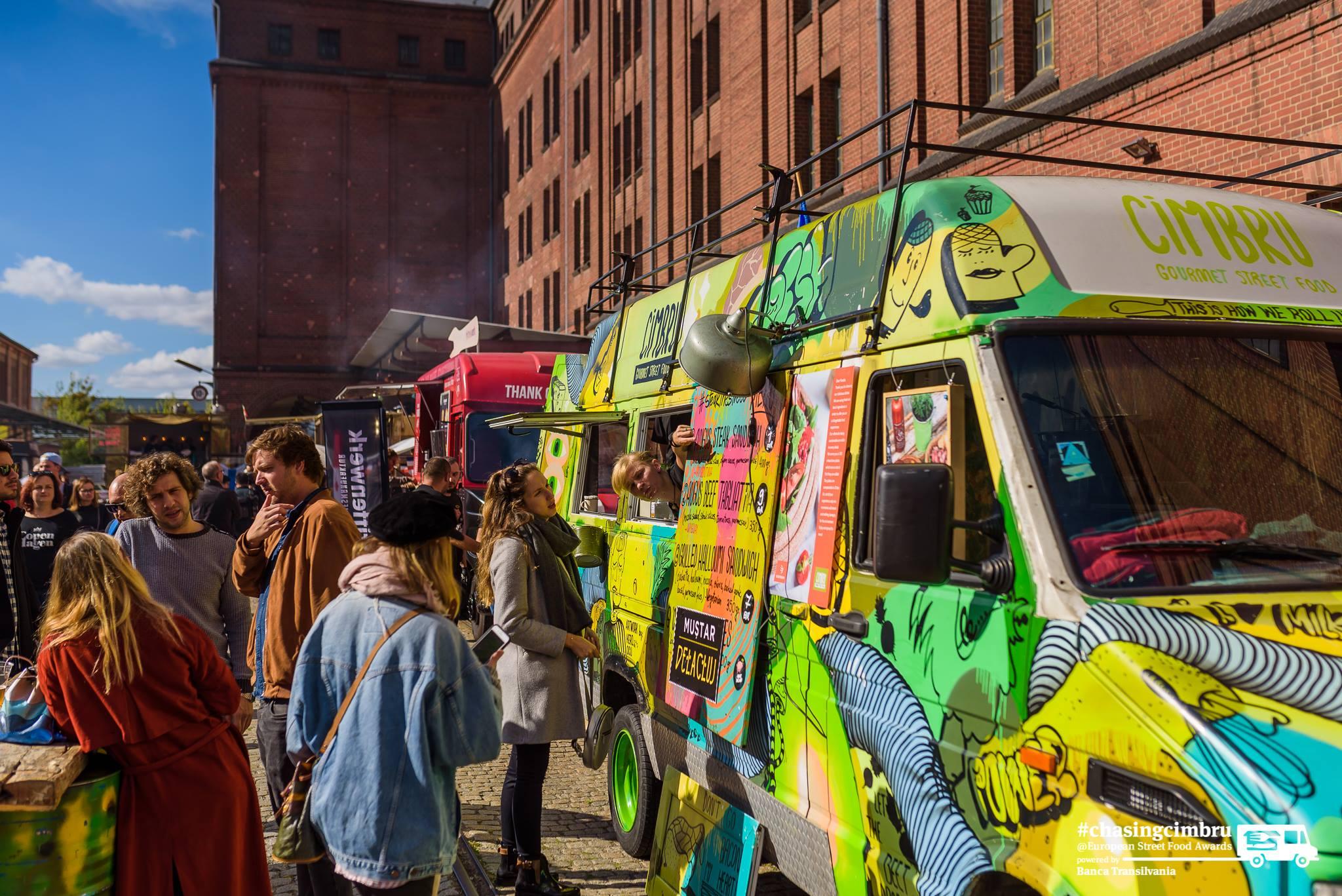 Cum a fost la European Street Food Awards cu echipa Cimbru
