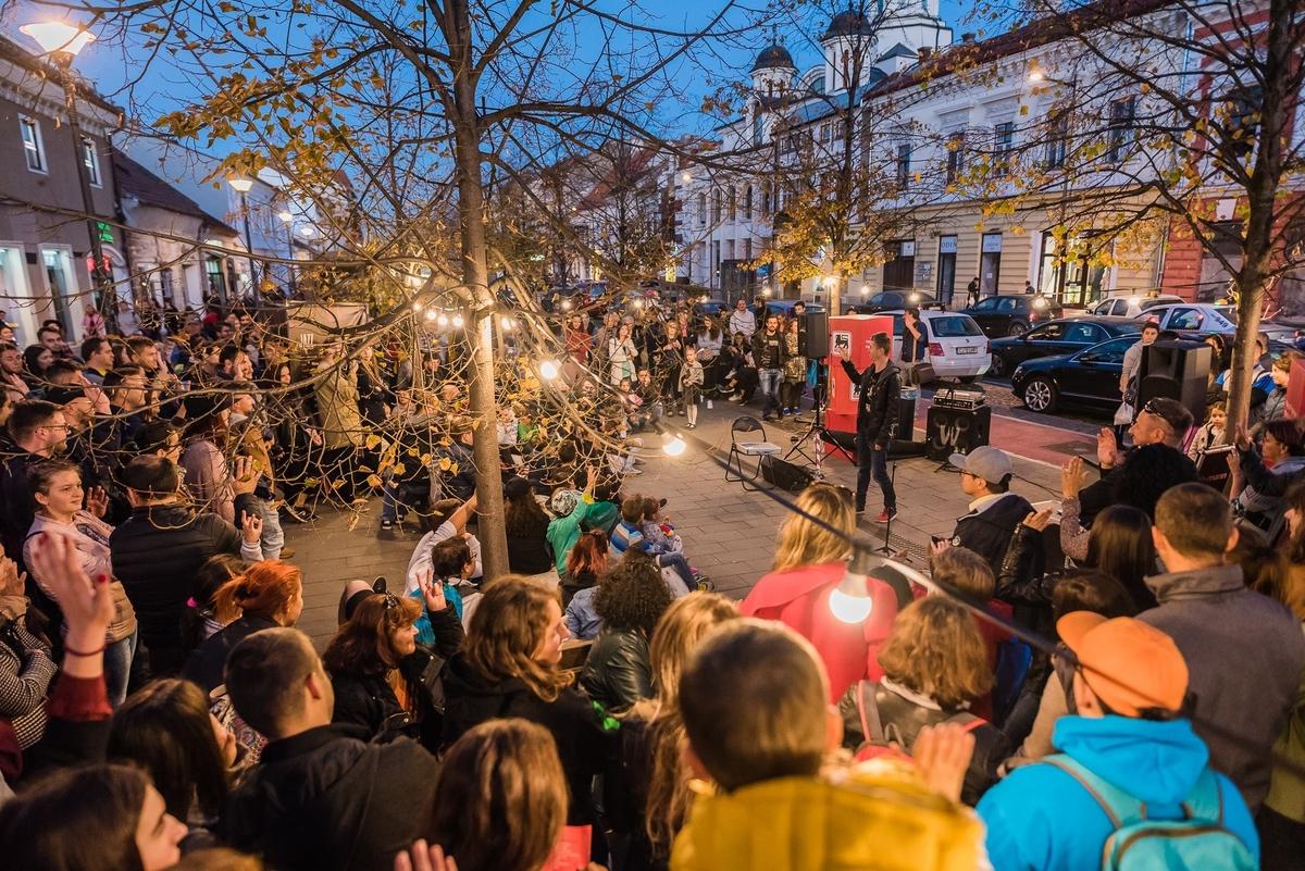 Cea mai importantă pietonală din Cluj a prins viață duminică la Jazz in the Street