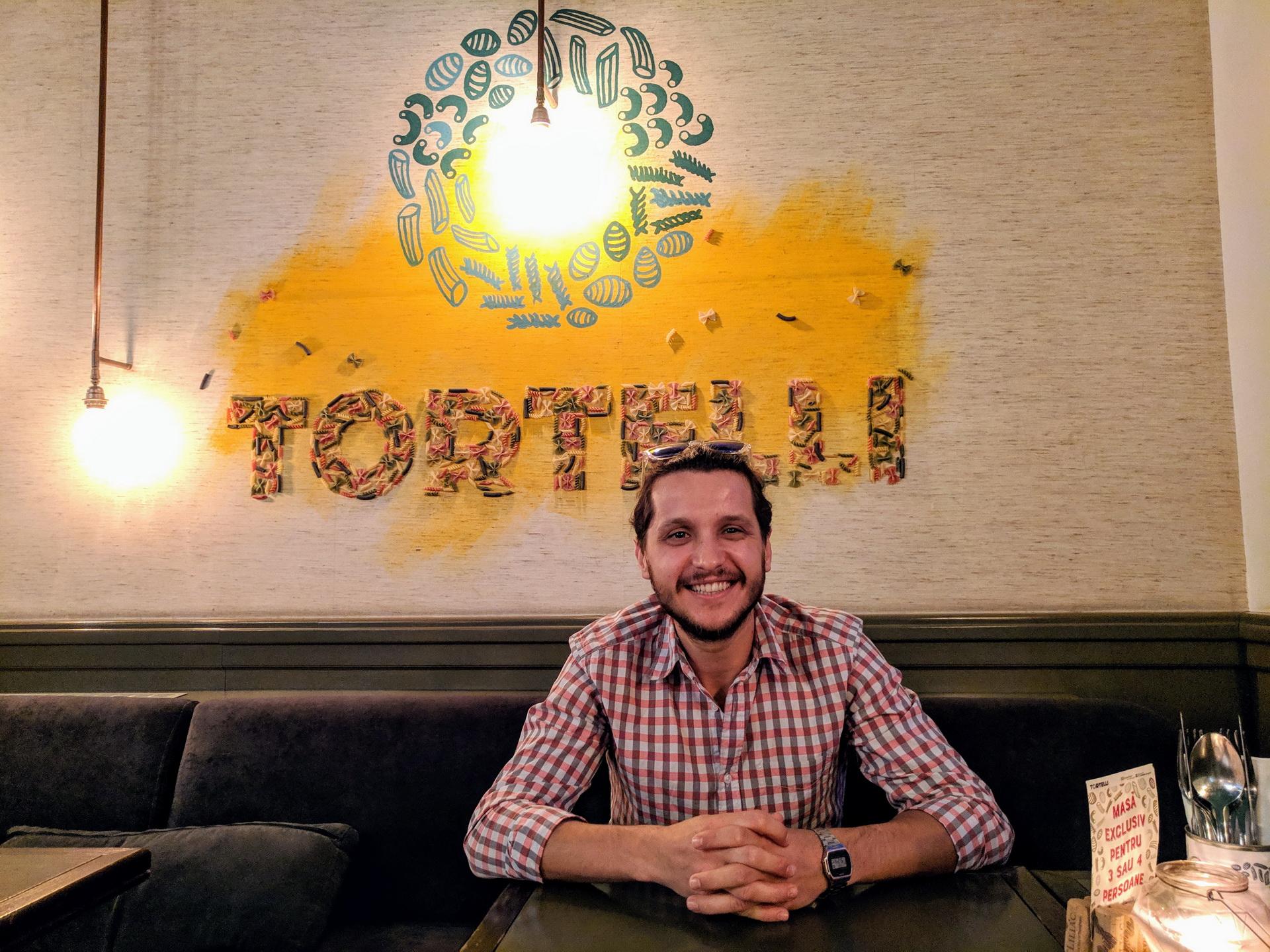 Interviu cu Lorand Toth, omul din spatele conceptului Tortelli Pasta Bar