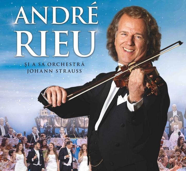 ANDRÉ RIEU în concert live pentru prima dată la Cluj-Napoca