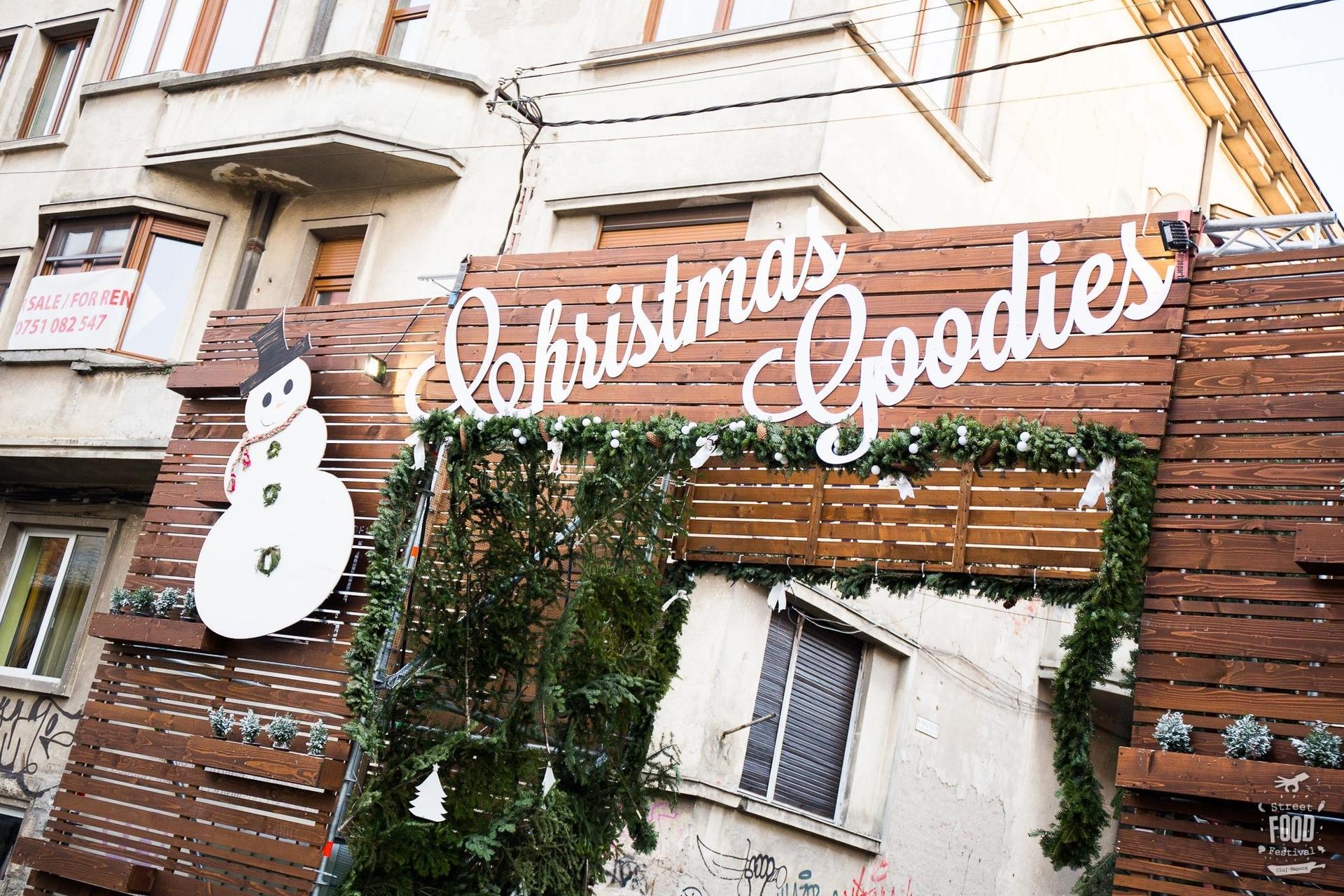 Street FOOD Festival Christmas Goodies revine la Cluj
