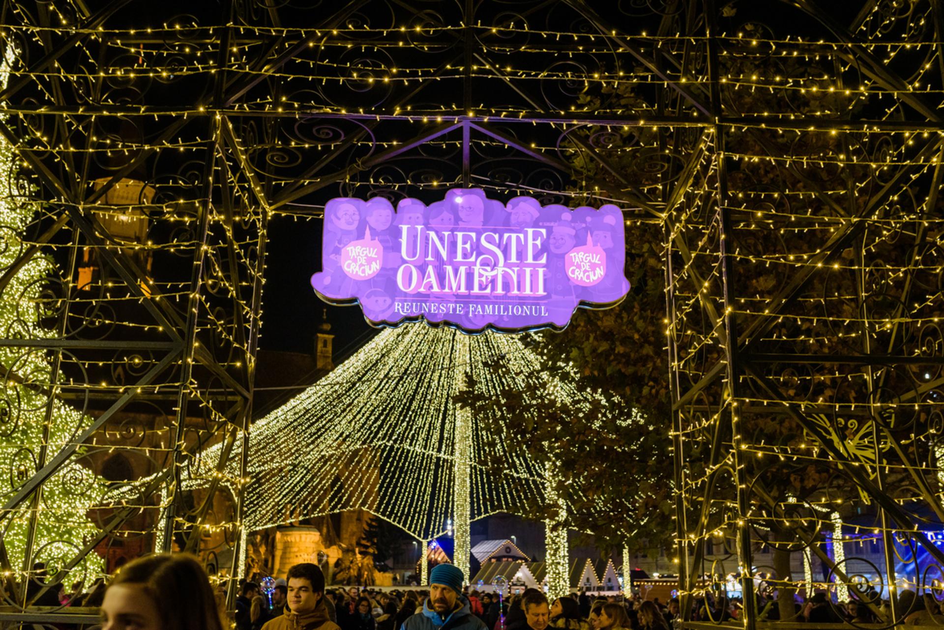 Începe prima săptămână tematică din cele cinci programate la Târgul de Crăciun din Cluj-Napoca