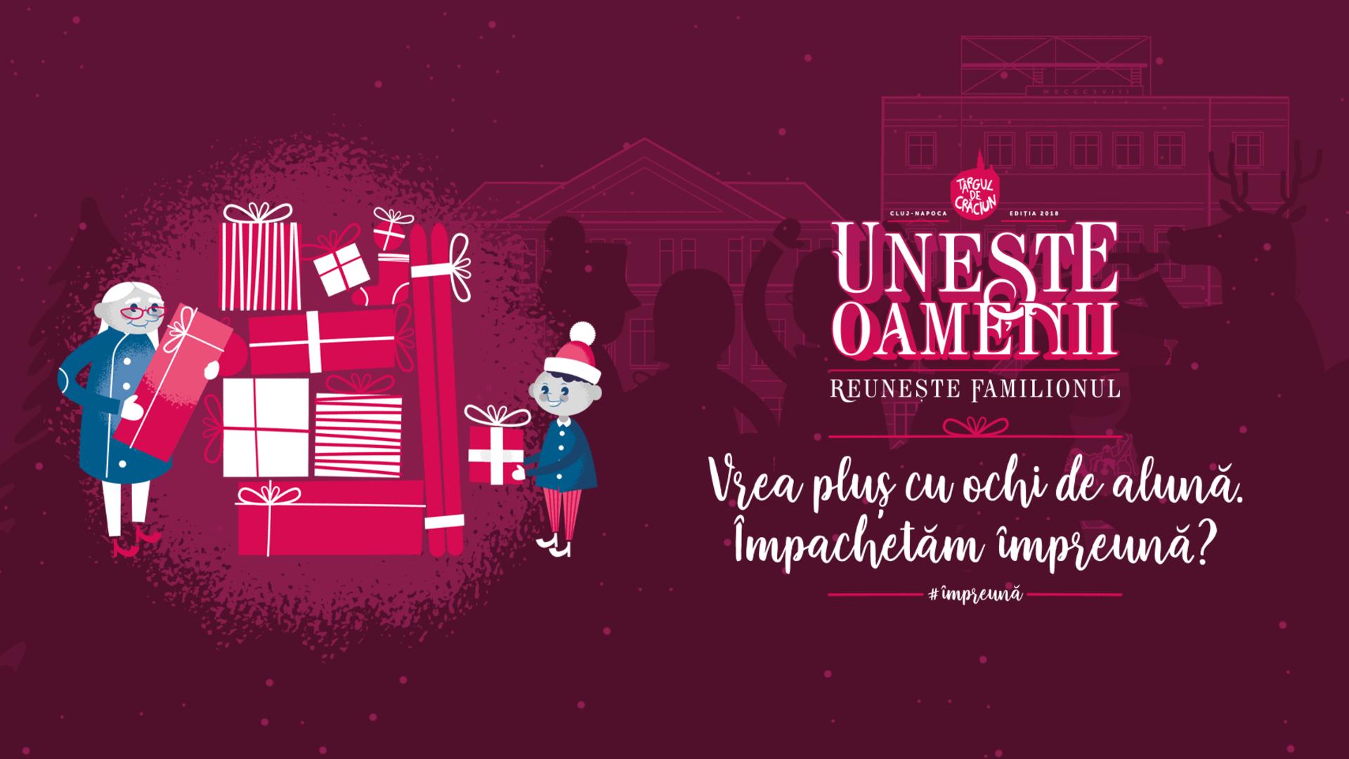 Începând de astăzi, 17 decembrie, ne vom bucura de Săptămâna Cadourilor la Târgul de Crăciun Cluj-Napoca