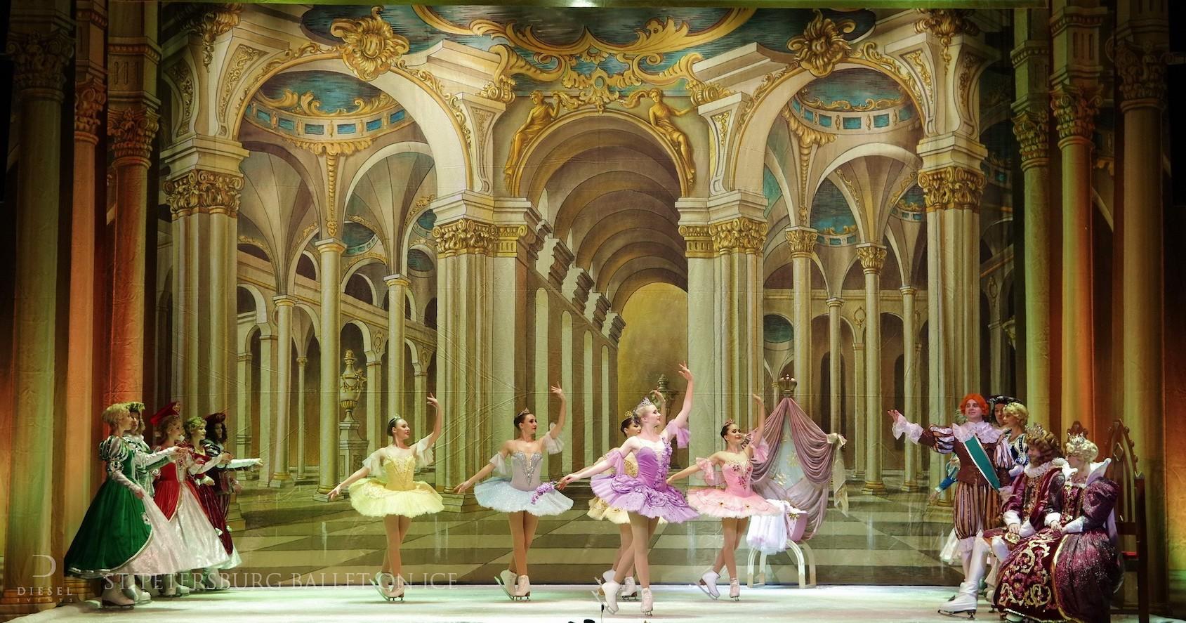 """Cum a fost la baletul pe gheață """"Frumoasa din pădurea adormită"""""""