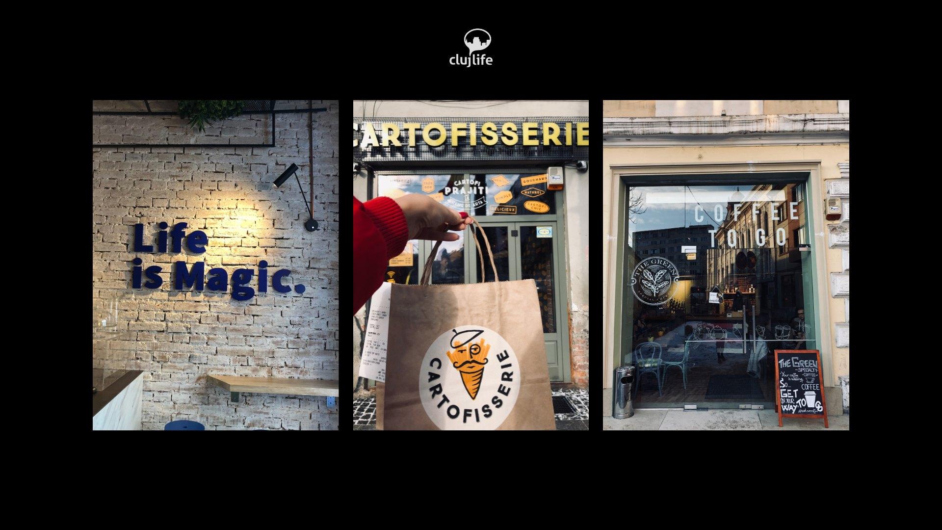 3 localuri care s-au deschis de curând în #Cluj: The Green Speciality Coffee, Vandy Alchemy și Cartofisserie