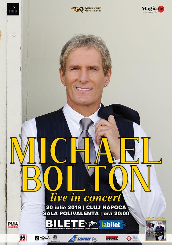 Concert Michael Bolton @ Sala Polivalentă BT Area