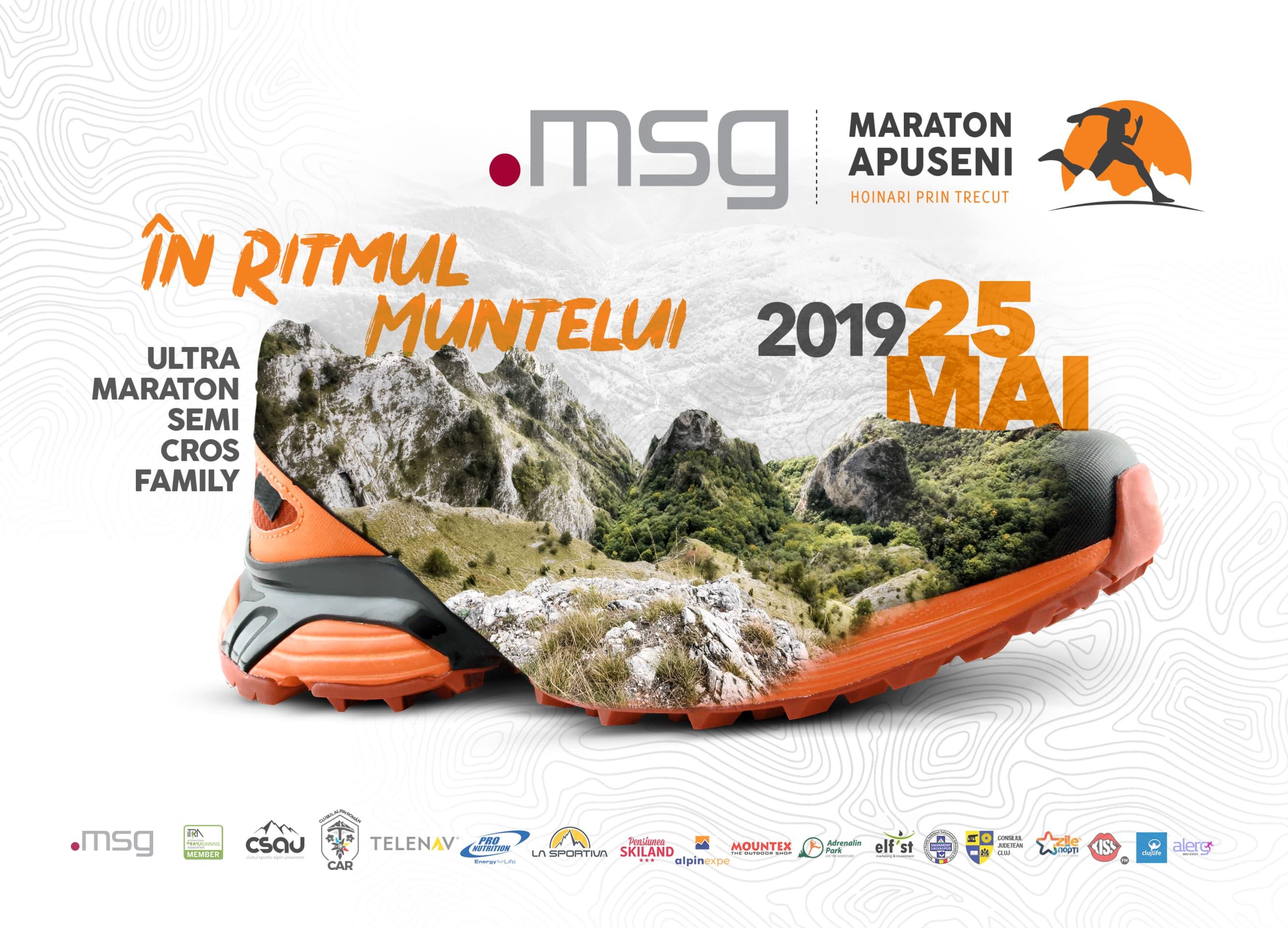 S-a dat startul înscrierilor la Msg Maraton Apuseni 2019!