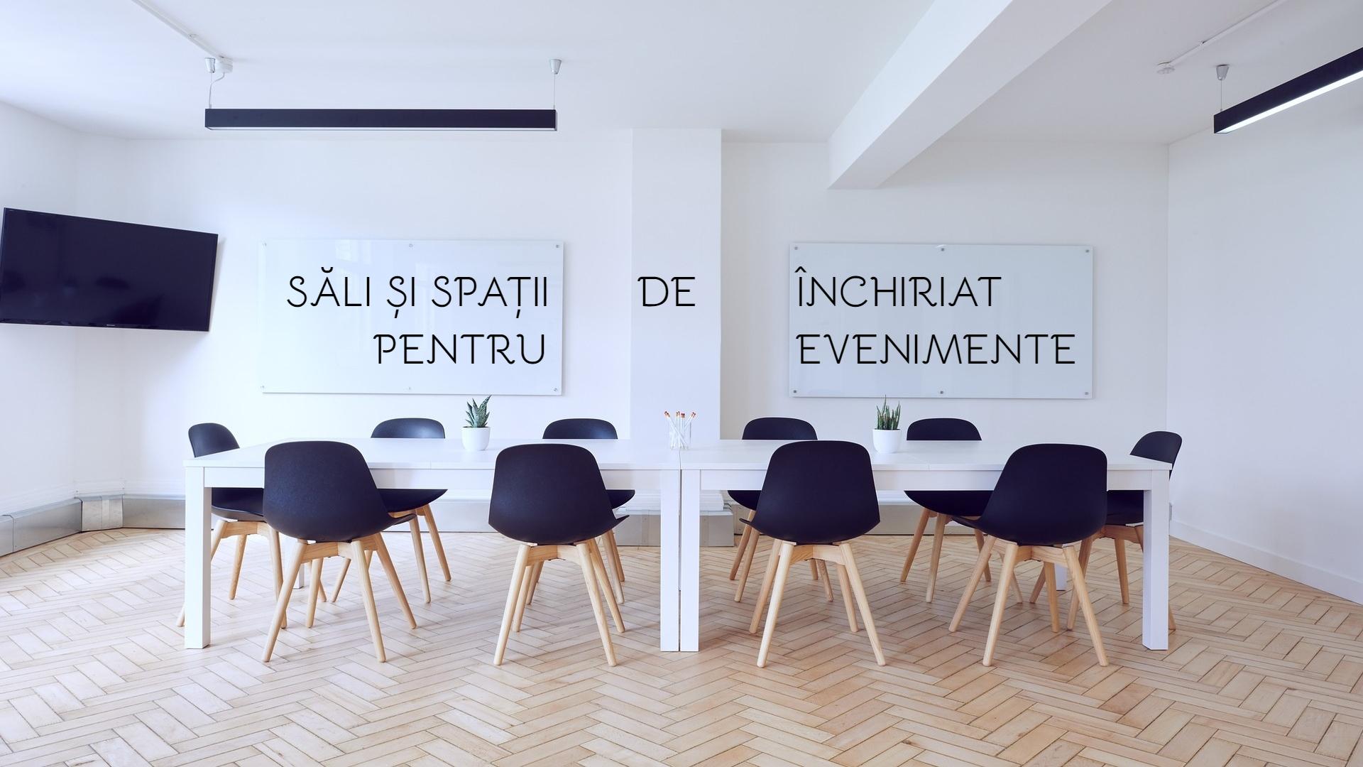 6 săli și spații de închiriat în Cluj pentru evenimente