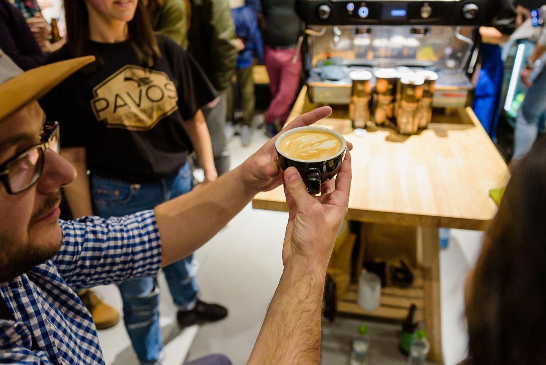 Poze: Cum a fost la Latte Art Throwdown @ Meron Roastery