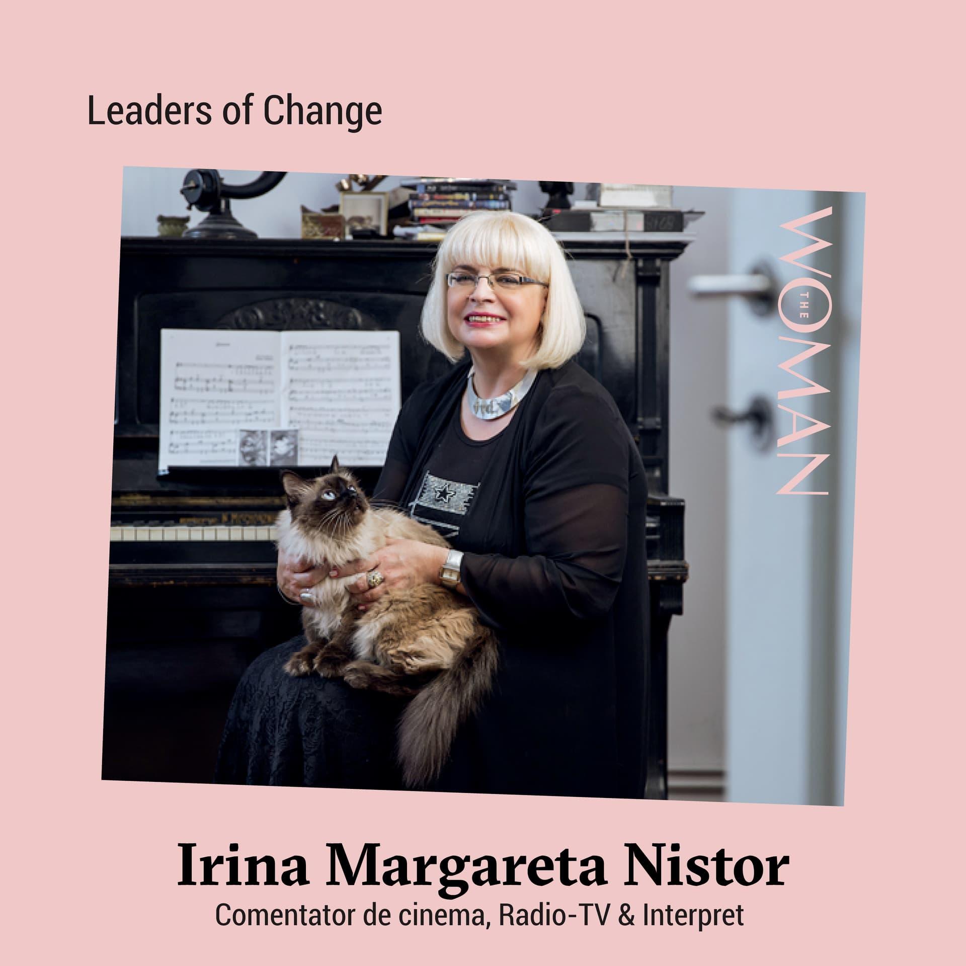 Irina Margareta Nistor primește Premiul The Woman pentru Întreaga Carieră