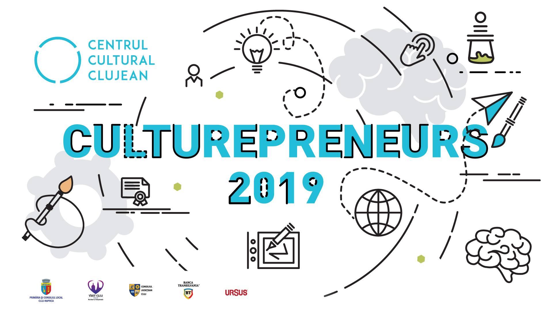 Eveniment lansare Culturepreneurs 2019