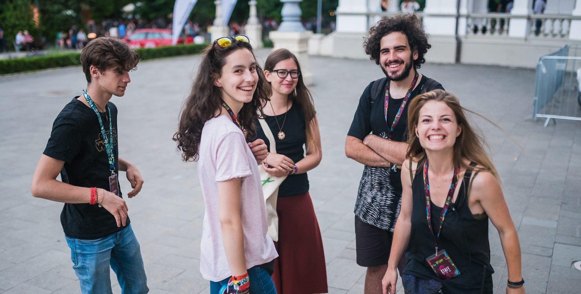 Interviu cu Roxana Tarko despre voluntariat în cadrul Jazz in the Park