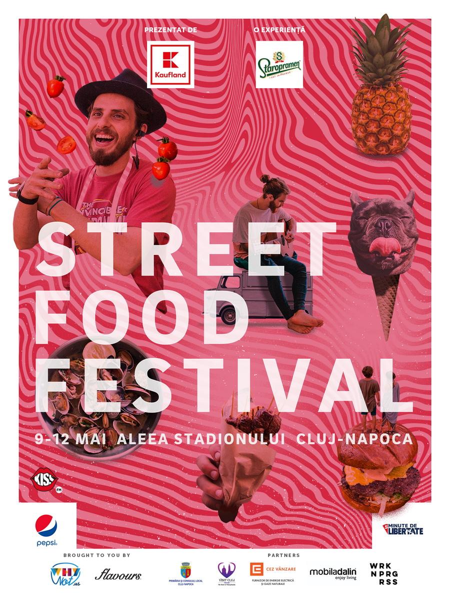 Street FOOD Festival te invită să iei parte la o călătorie senzațională în jurul lumii în perioada 9 – 12 mai pe Aleea Stadionului din Cluj