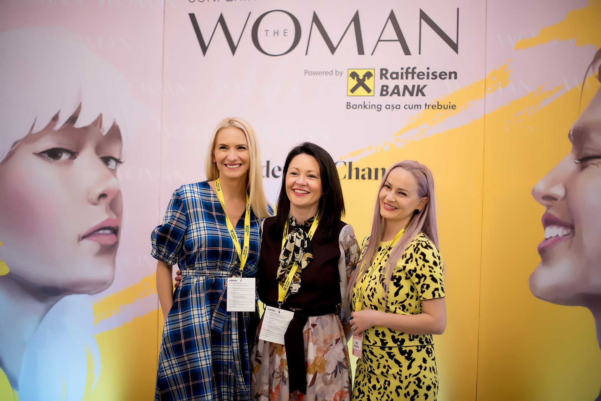 Comunitatea The Woman s-a reunit în 28 martie la Conferința de Leadership Feminin