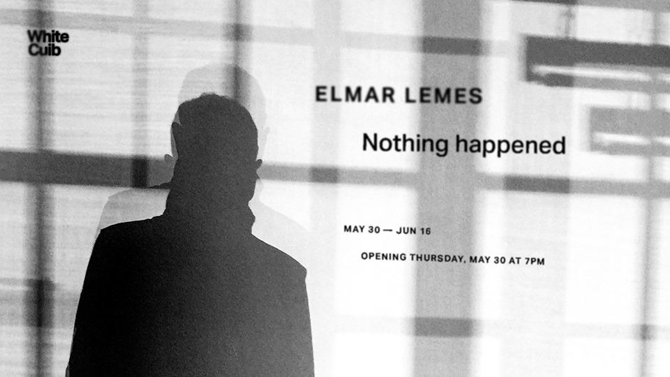 Elmar Lemes Nothing happened