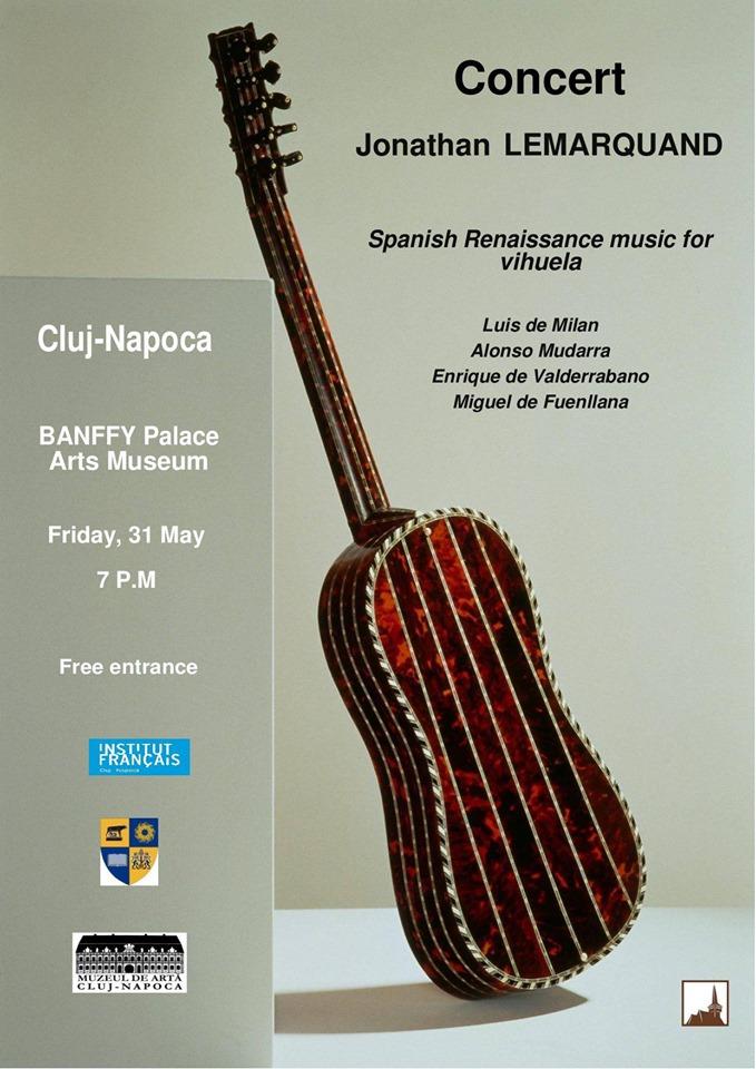 Jonathan Lemarquand. Spanish Renaissance music for vihuela