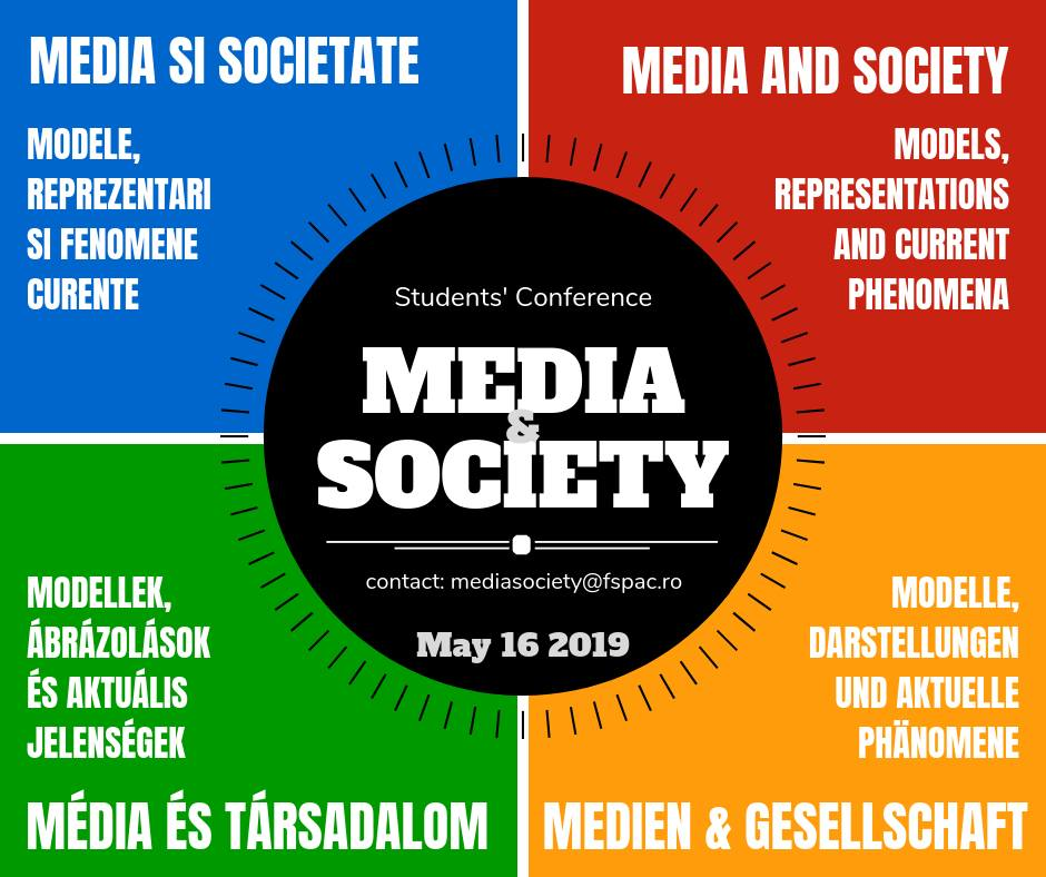 Media and Society 2019 Students' Conference