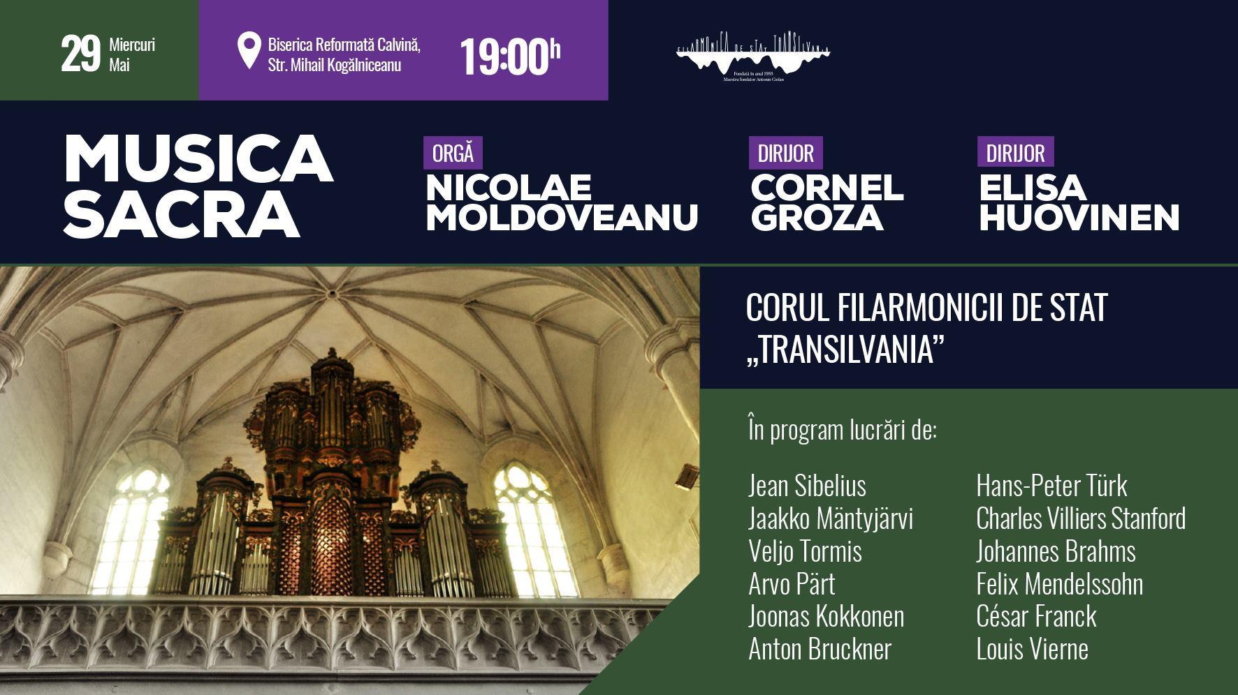 Musica sacra - Concert pentru cor și orgă
