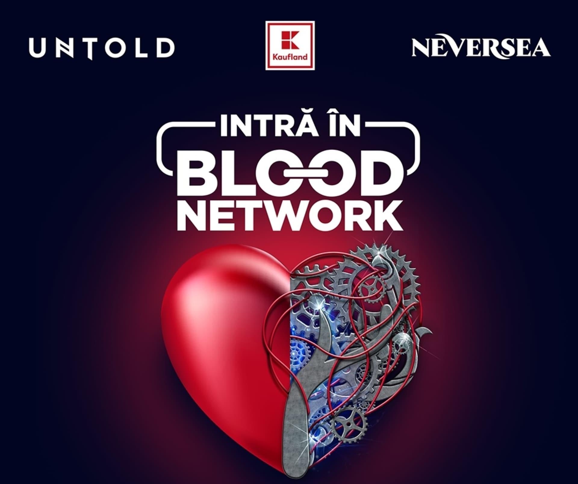 Campania BLOOD NETWORK revine – donează sânge și mergi la UNTOLD și Neversea!