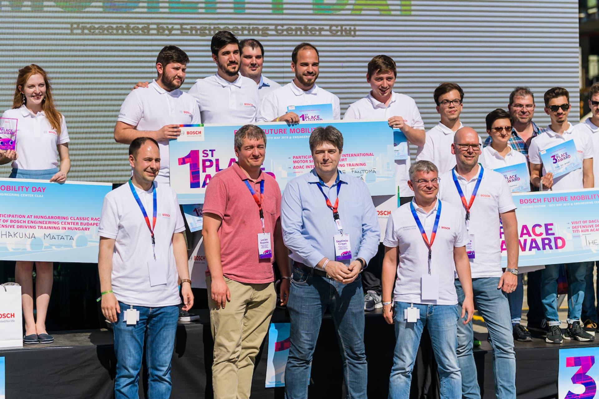 Bosch Future Mobility Challenge şi-a desemnat câştigătorii pe 19 mai la Cluj-Napoca