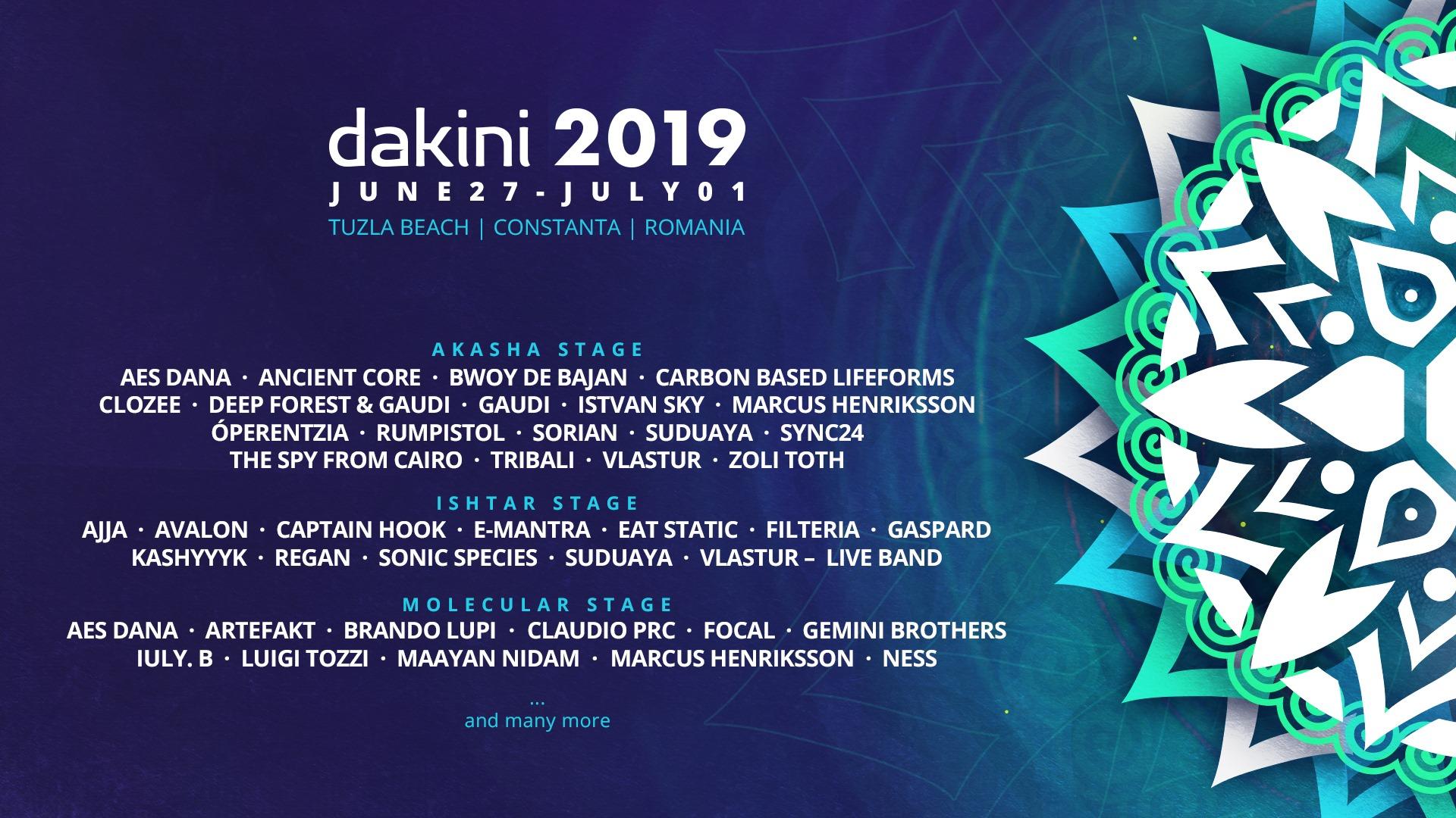 Dakini Festival 2019