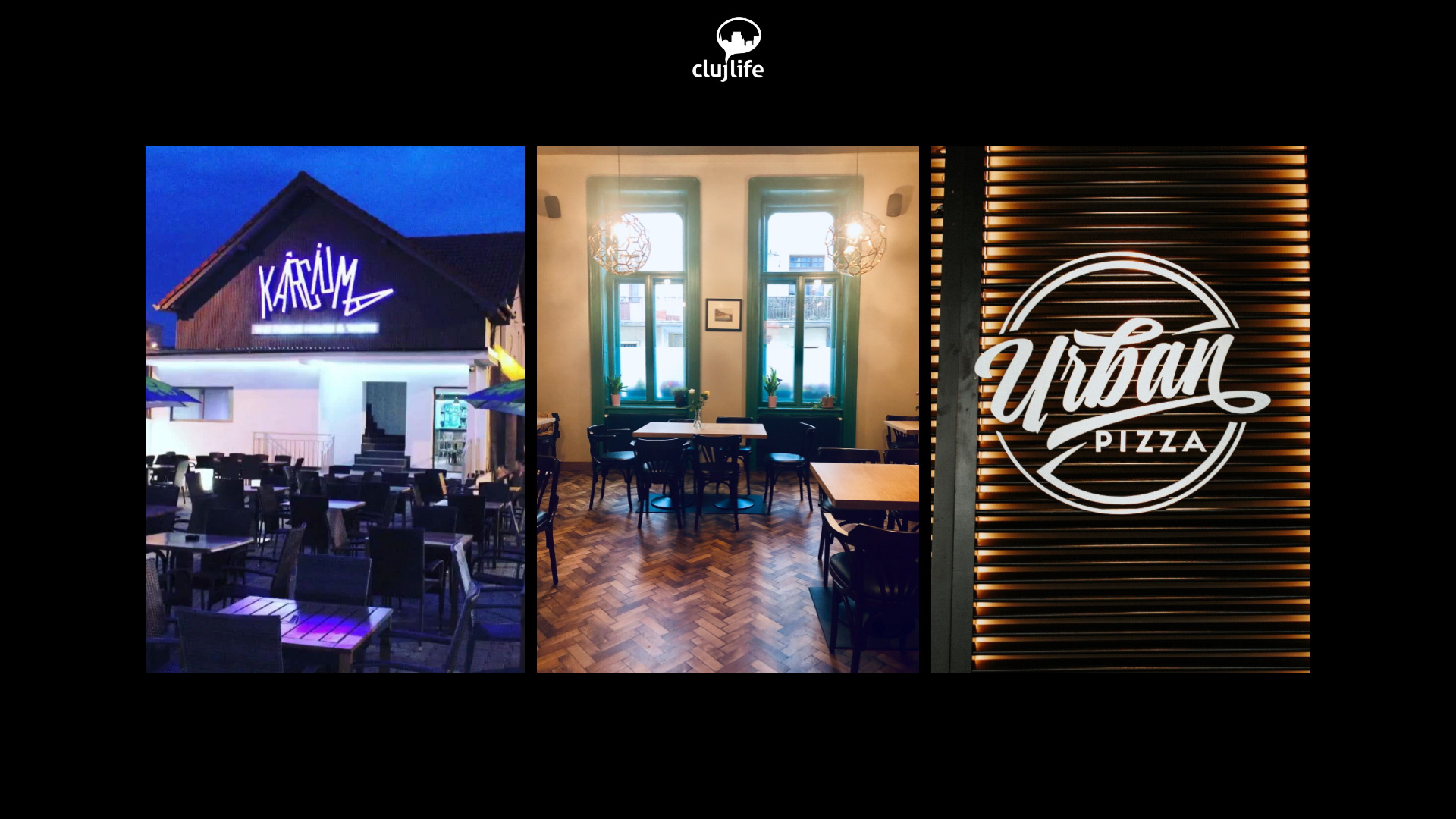 3 localuri recent deschise în Cluj: Urban Pizza, Old Town Bar & Prosciutteria și Kârciuma