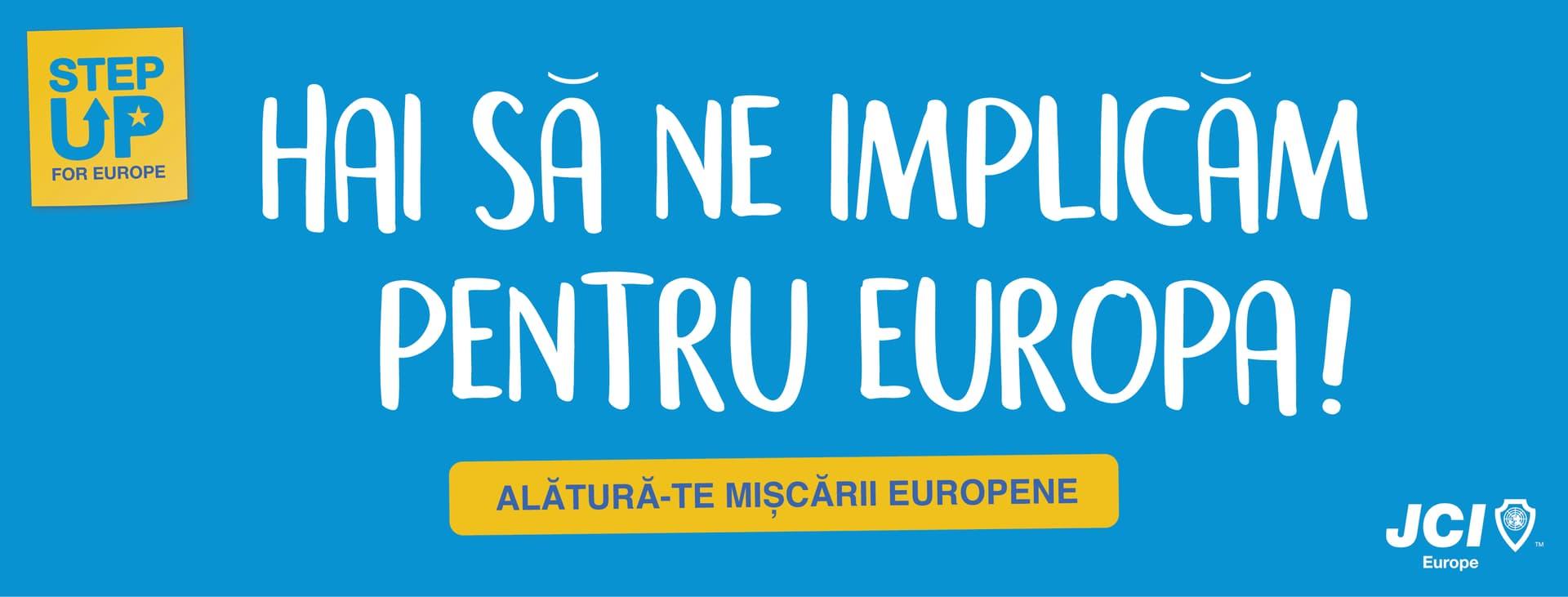 Interviu cu Iulia Popoviciu despre proiectul Step Up For Europe