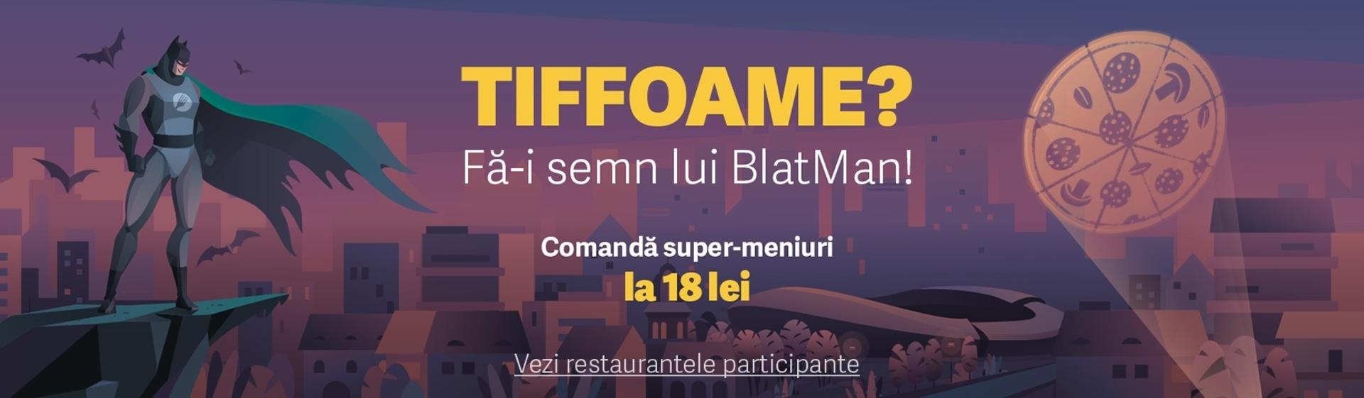 TIFFoame? Fă-i semn lui BlatMan!