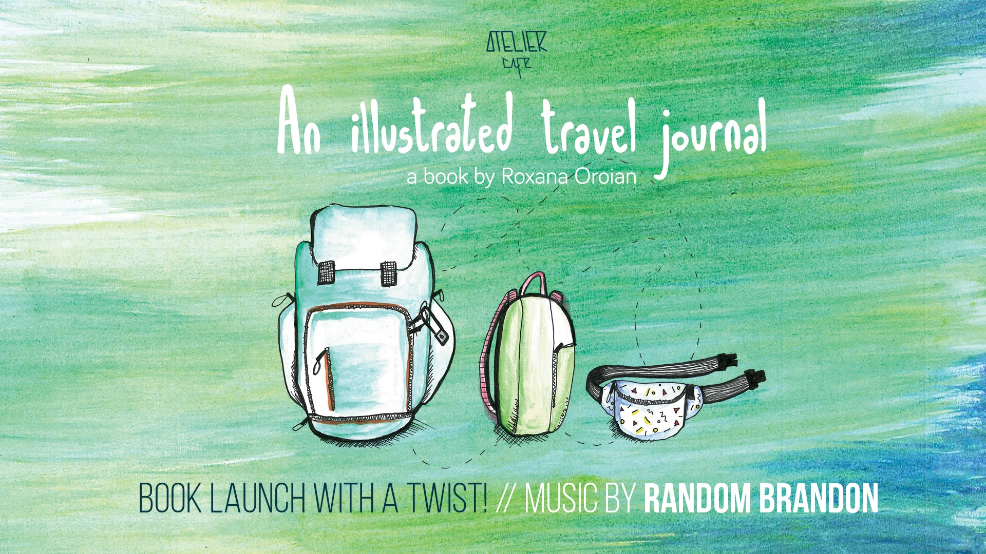 An Illustrated Travel Journal: The Book Launch, with a Twist