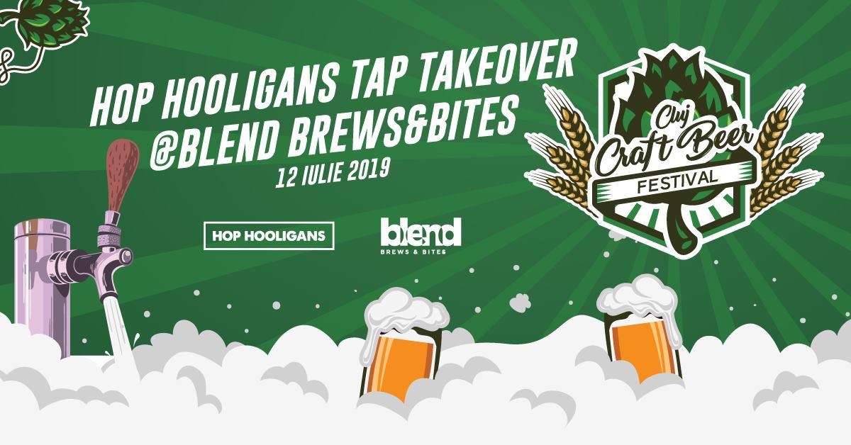 Hop Hooligans Tap Takeover @ Blend